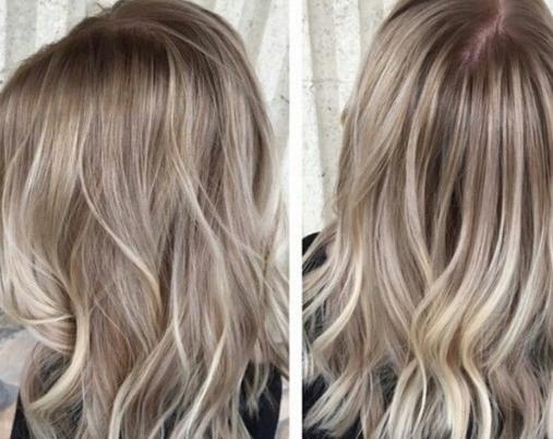 Фото женских цветов волос